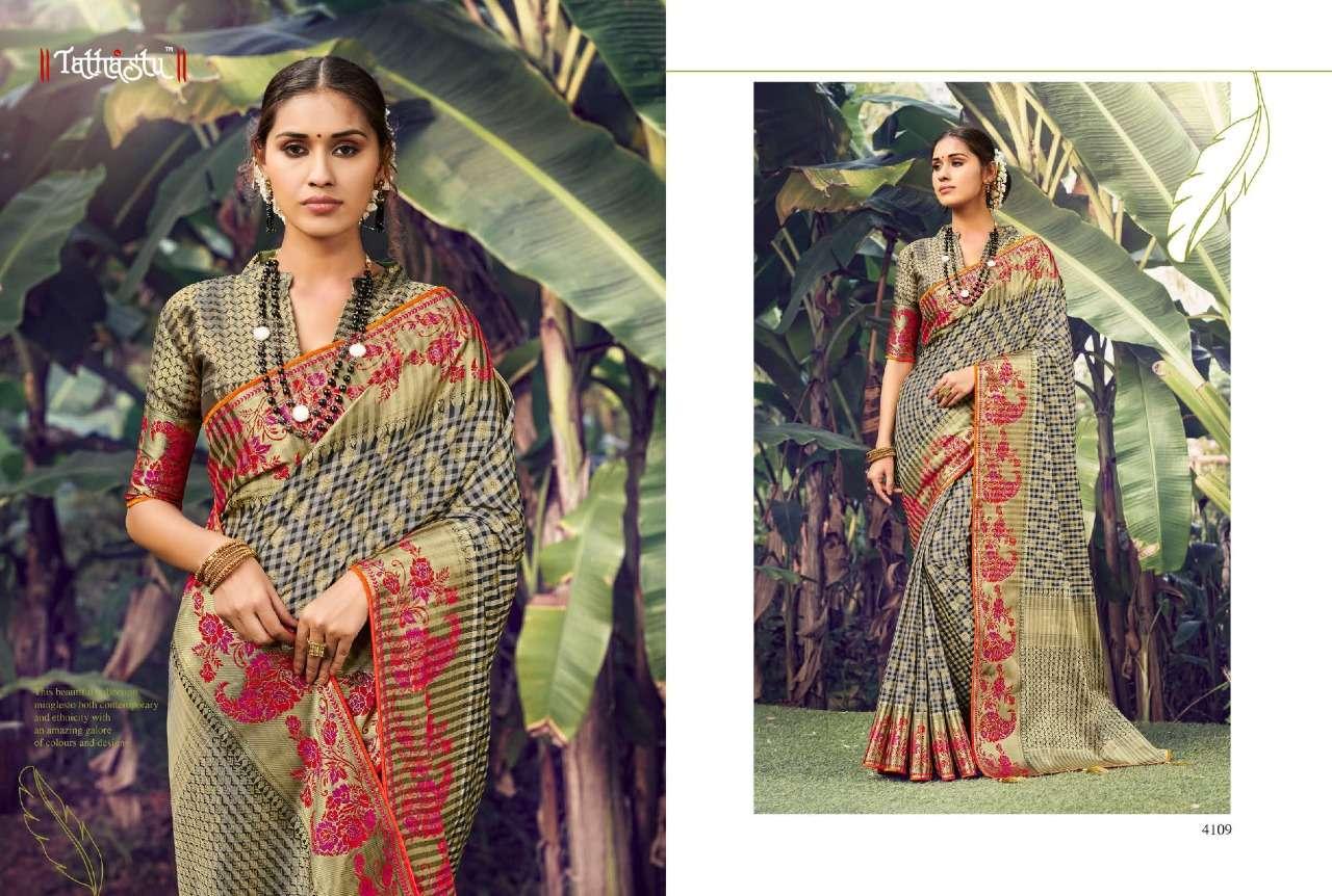 Tathastu 4100 Series Heavy Designer Silk Sarees Collection  07