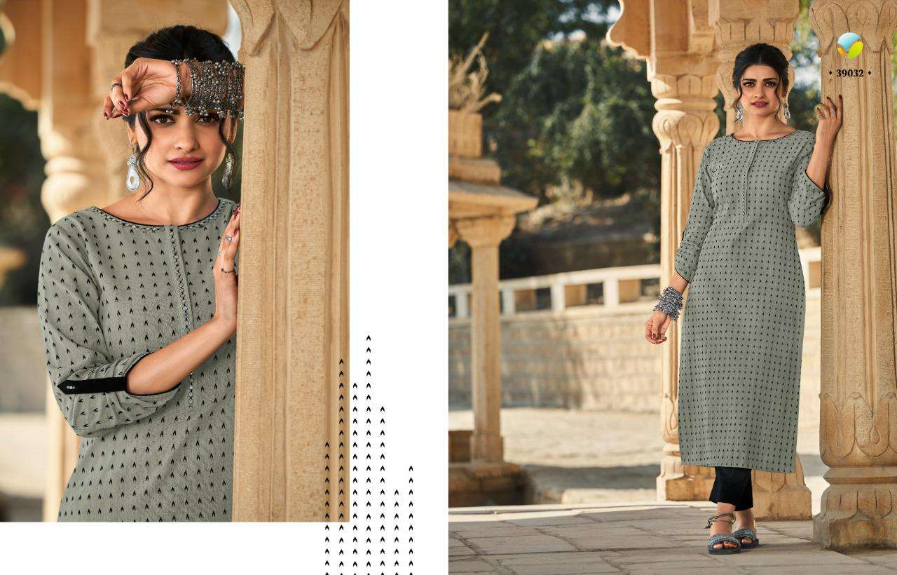 Vinay Tumbaa Hand weaved Pure hand weaved Kurti With Bottom collection