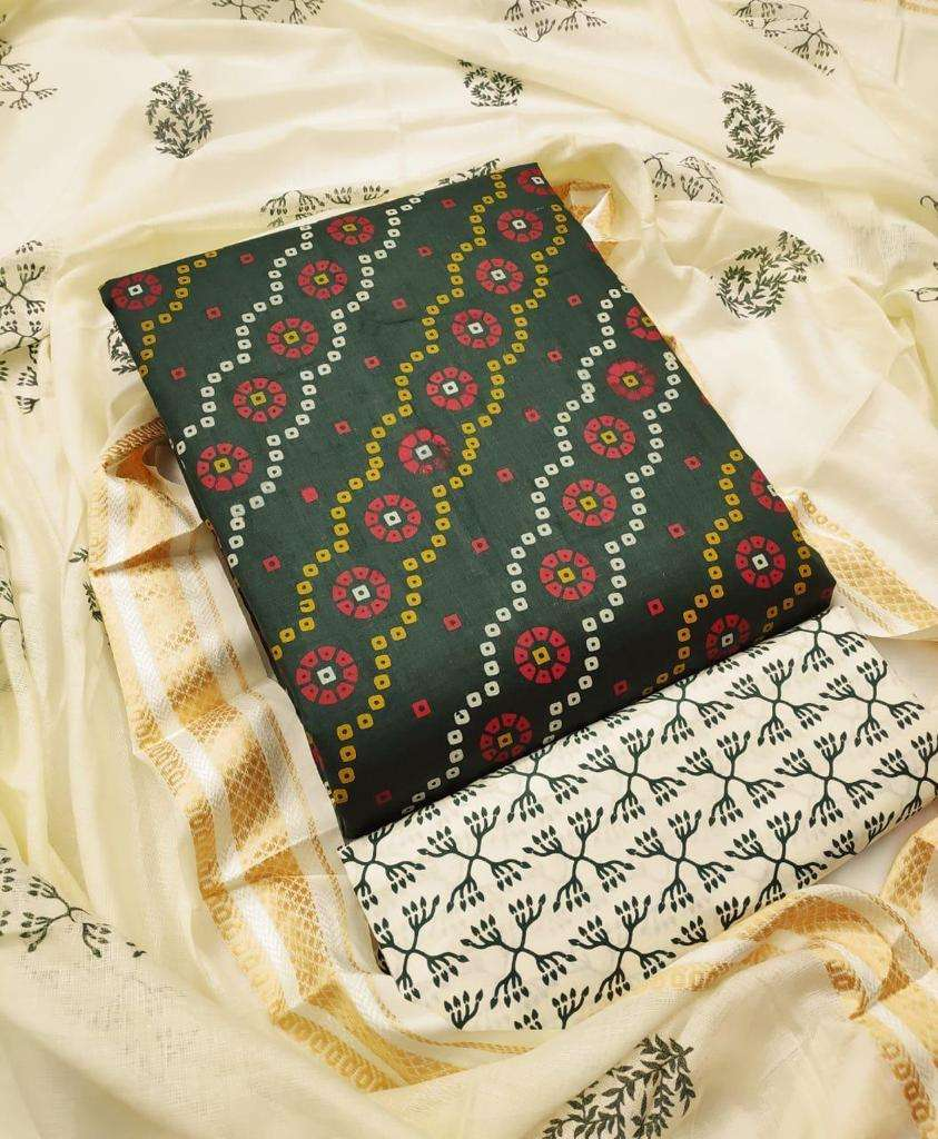 Cotton Printed Regular Wear Dress Material Collection 03