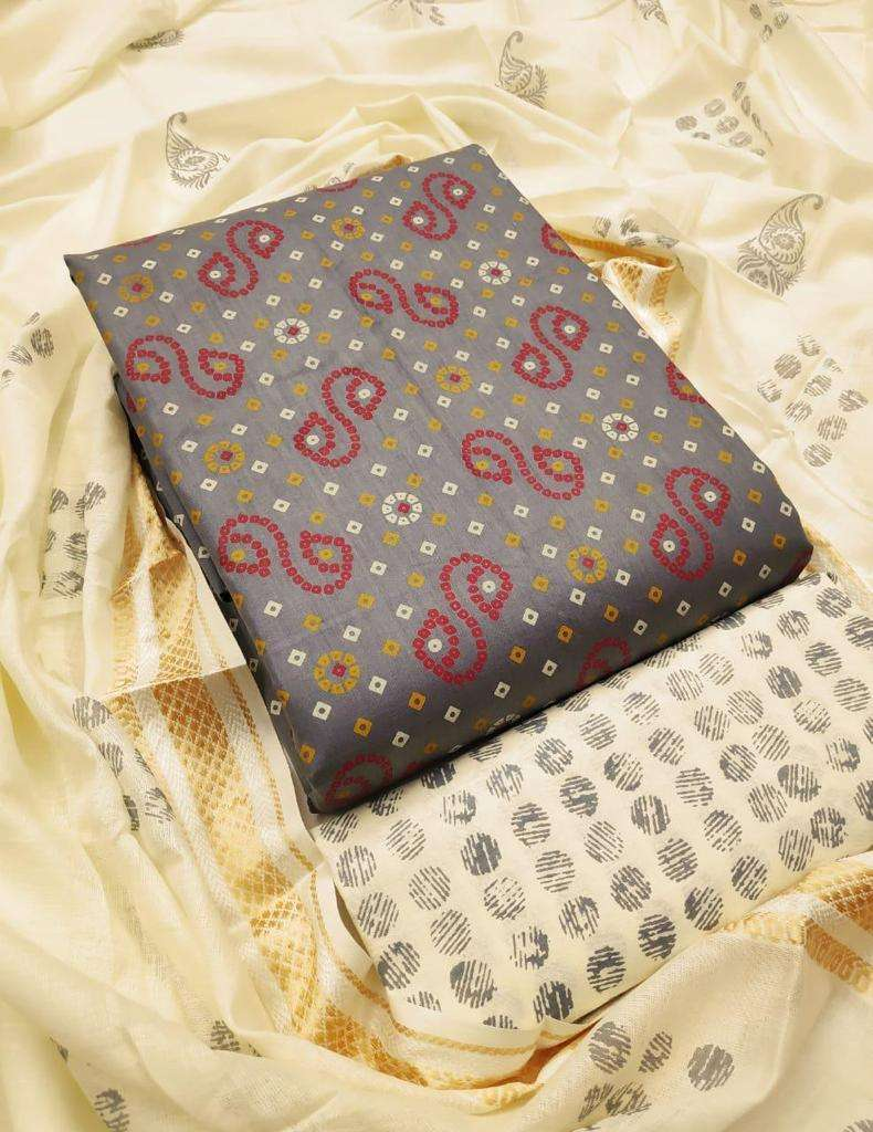Cotton Printed Regular Wear Dress Material Collection 04
