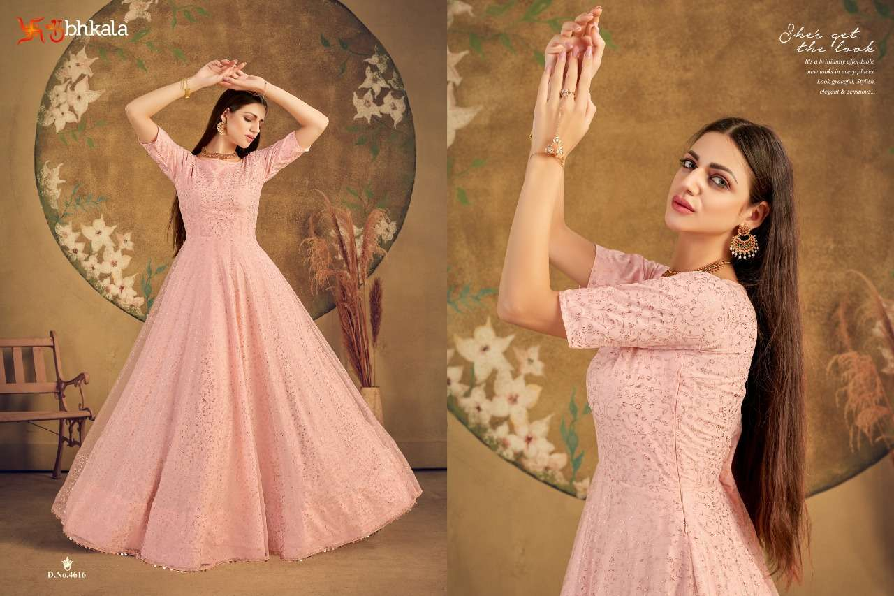 Shubhkala Flory Vol 16 Net With Anarkali Gown Collection