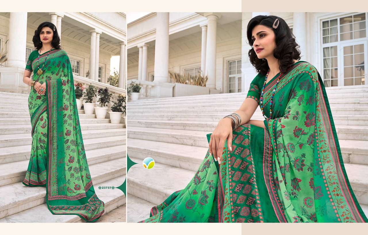 Vinay Fashion Sheesha Starwalk Vol 64 Georgette printed Sarees collection