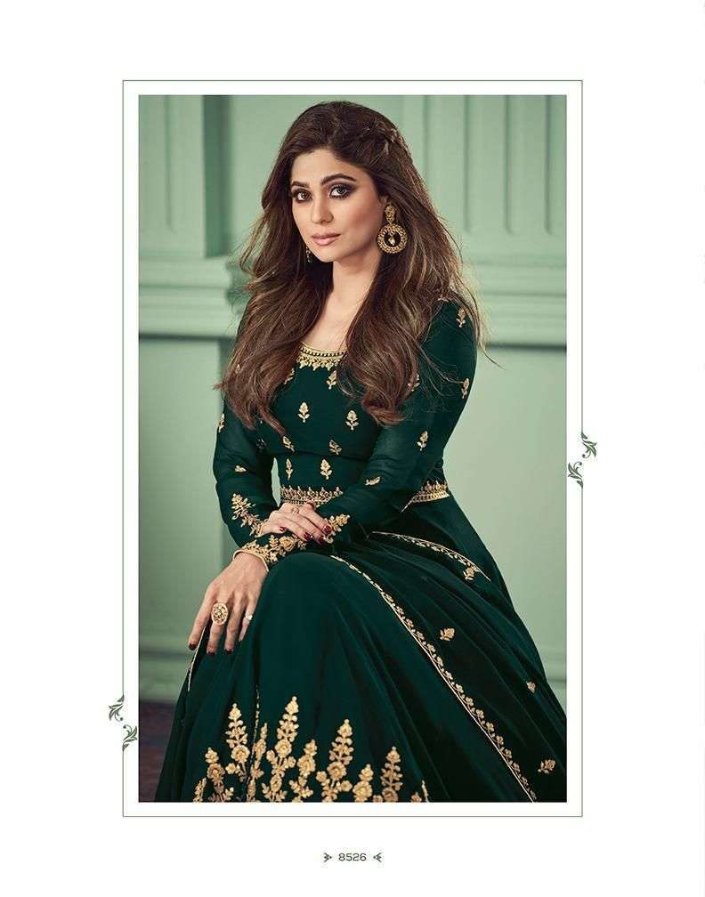 Aashirwad Creation Alizza georgette With Embroidery Work readymade Suits collection