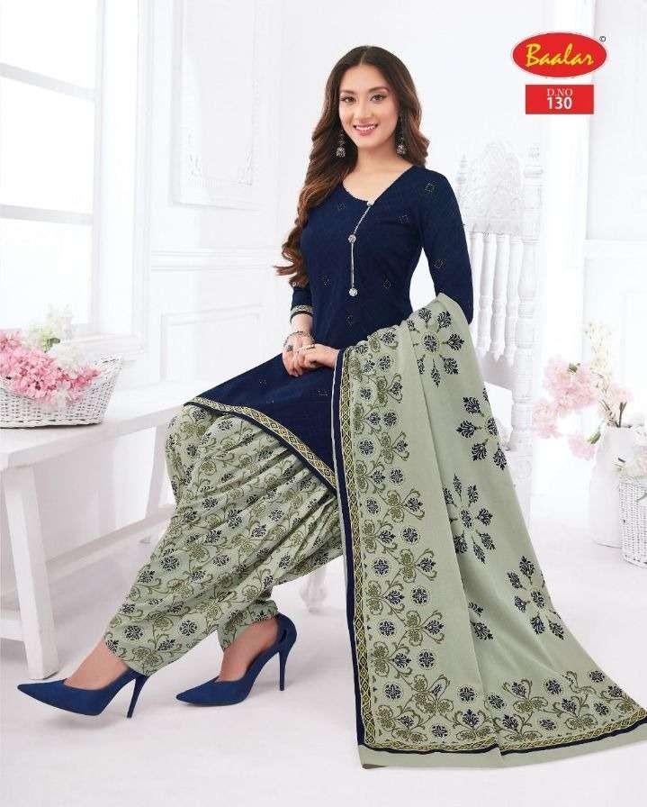 Baalar Zaara Vol 10 Cotton printed Dress Material Collection