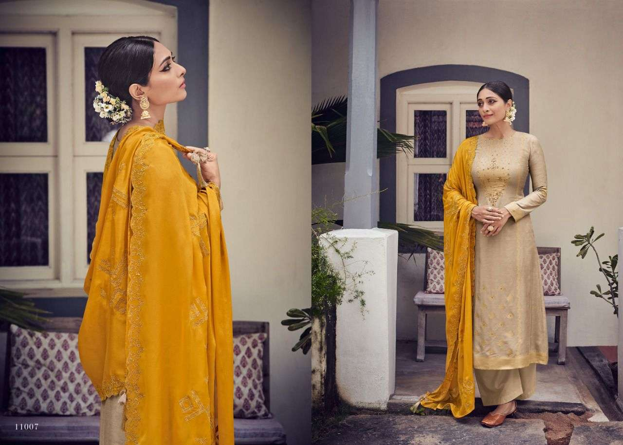 Deepsy Suits Ivyona Pure Viscose jacquard With Embroidery Work Dress Material collection
