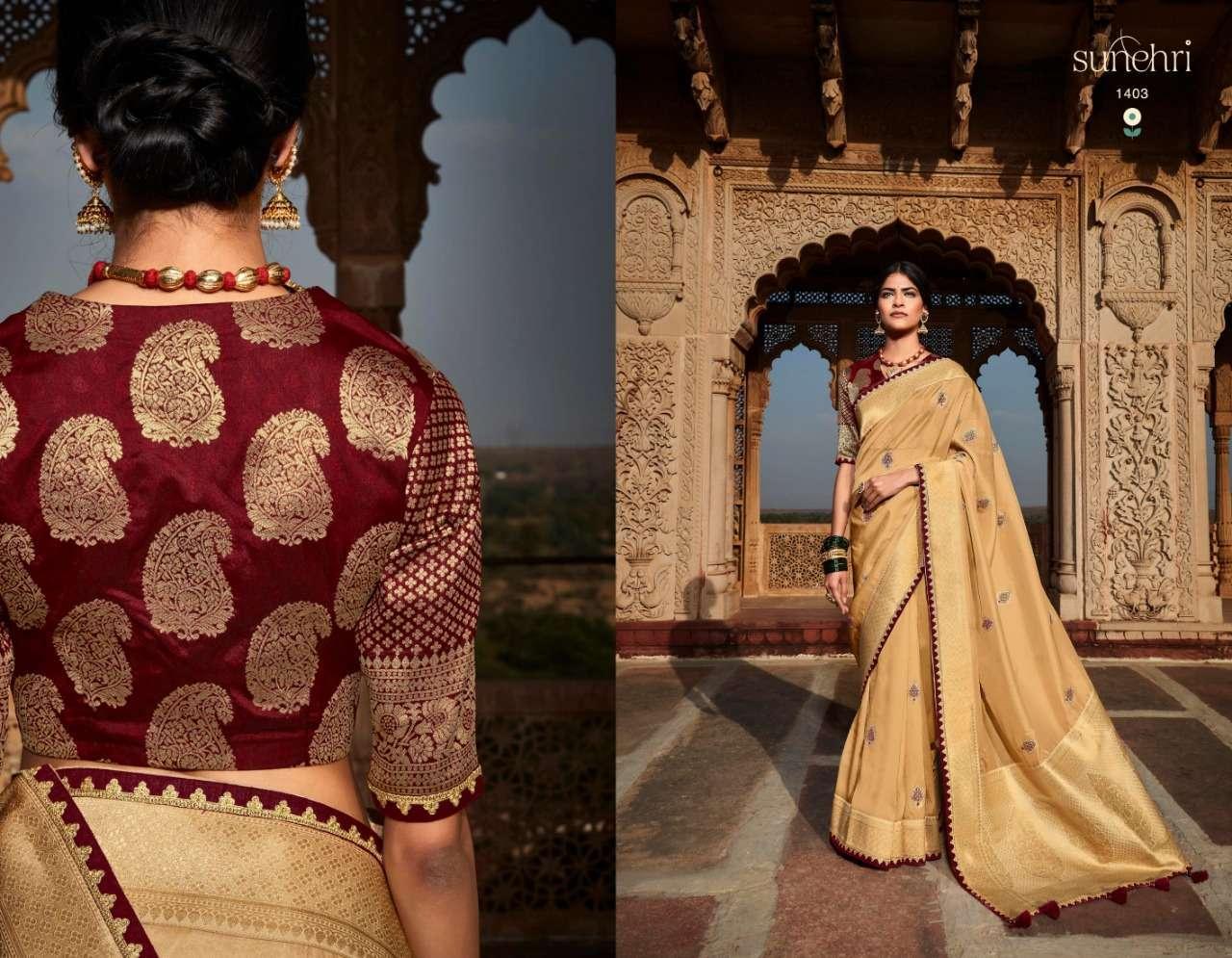 Kimora Fashion Sunehri Vol 16 Silk Designer Wedding Sarees Collection