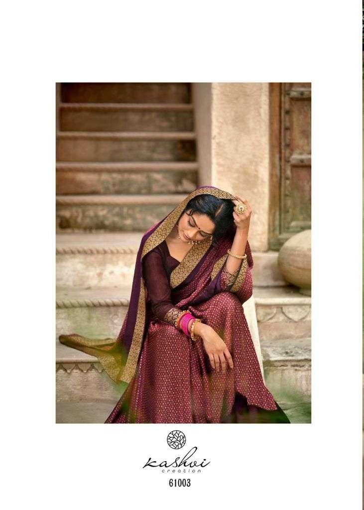 lt fabrics kashvi vastra moss with printed saree collection