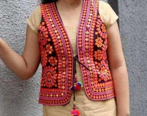NAVRATRI SPECIAL EMBROIDERY WORK KOTI COLLECTION