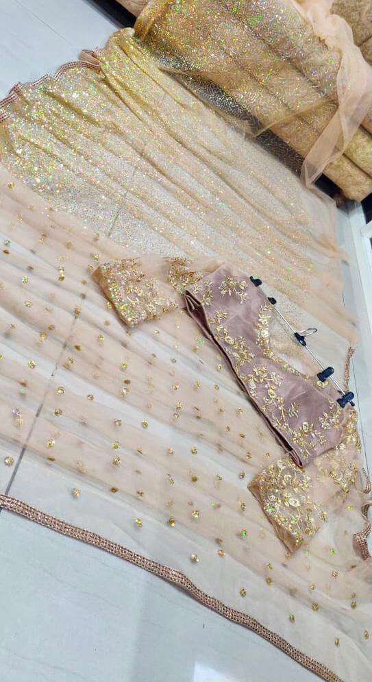 PS-119 BOLLYWOOD WEAR BUTTERFLY NET SAREE COLLECTION