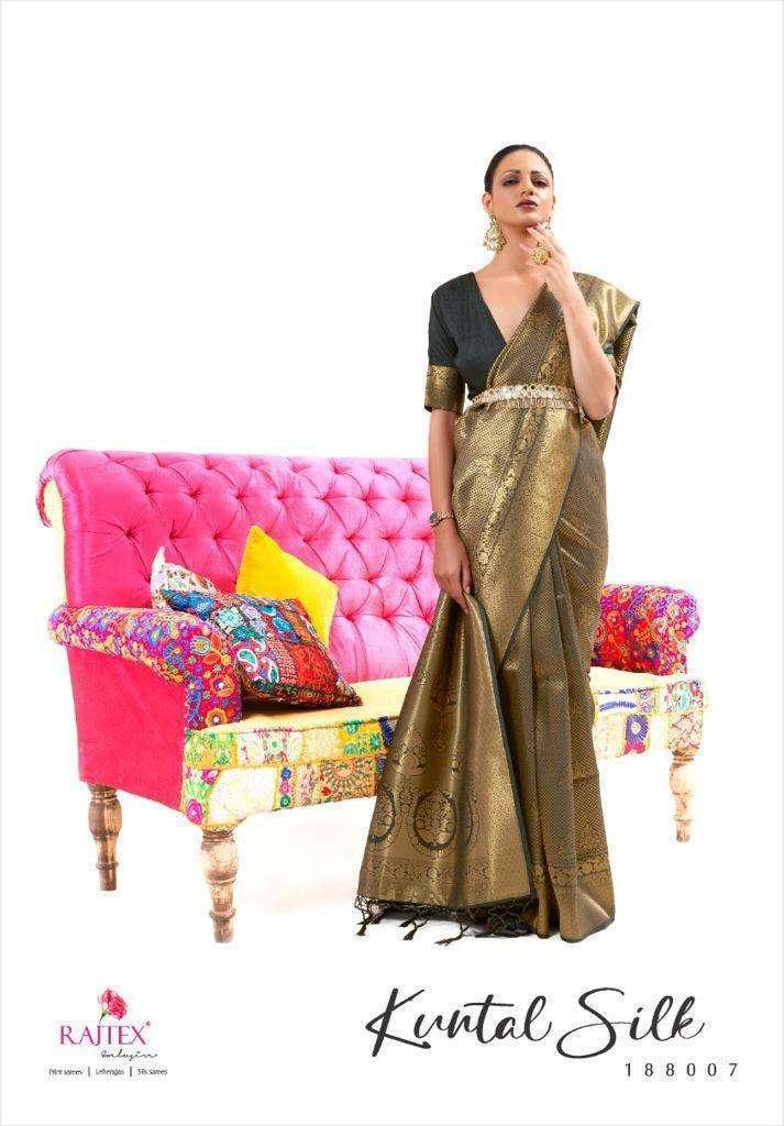 Rajtex Kuntal Silk Handloom Weaving Silk Sarees Collection 02