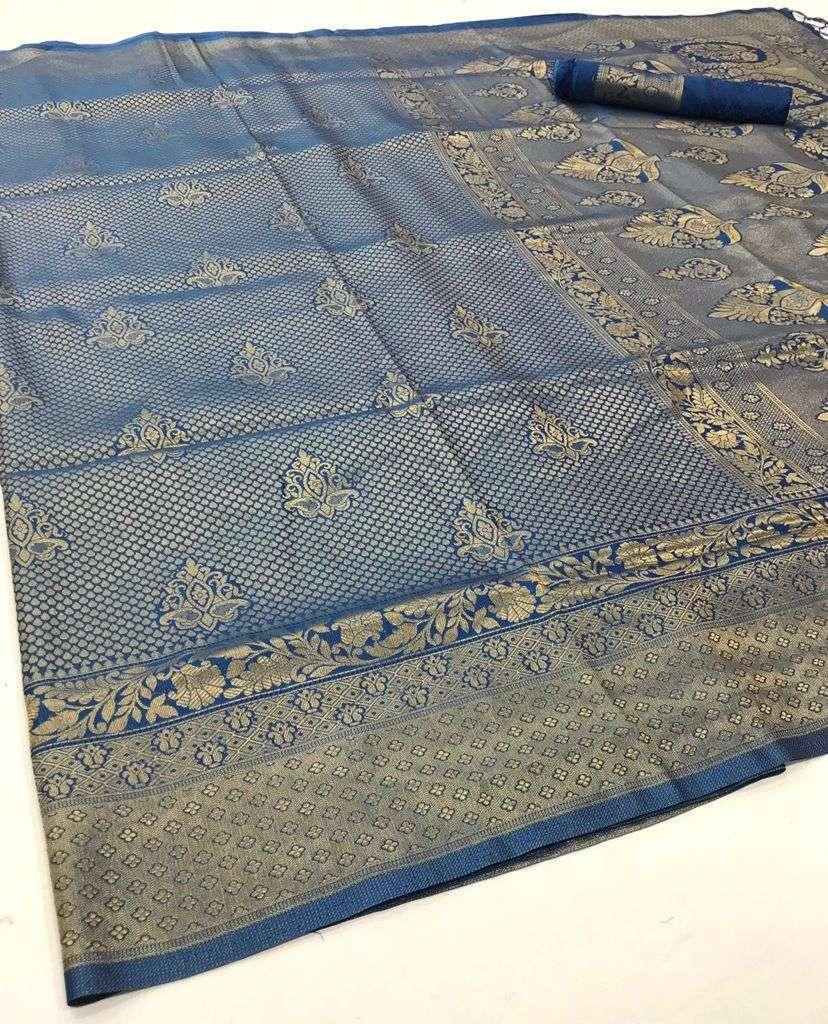 Rajtex Kuntal Silk Handloom Weaving Silk Sarees Collection 03