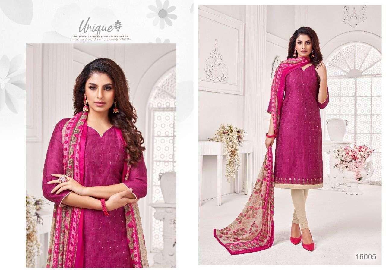 Shagun Lifestyle Autograph Vol 16 Jharna Slub With Work Dress Material Collection
