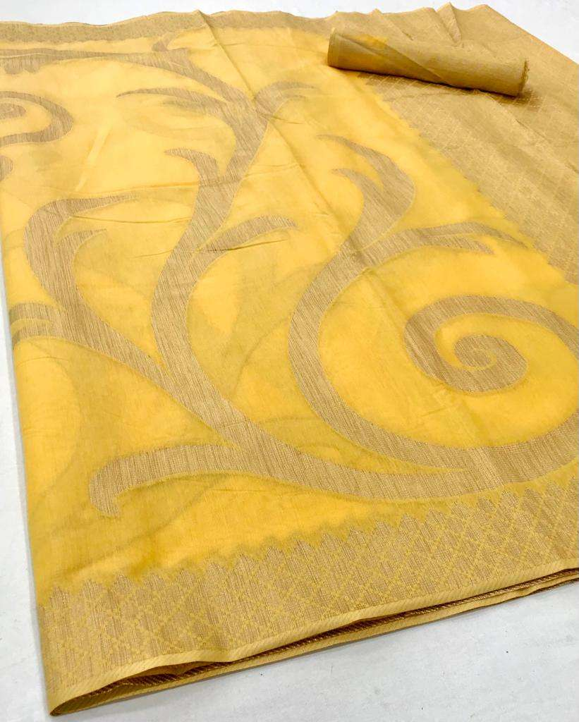 Anupama  Modal Cotton with weaving design saree collection