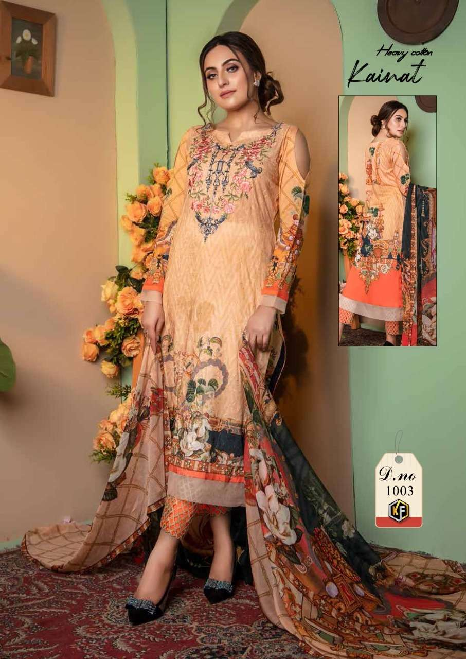 keval fab Kainat Luxury Cotton Collection Vol 1