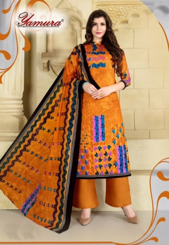7d5e6d31b1 Yamura Aneeqa Monsoon Special Regular Wear Bundle of 10 Printed Karachi  Cotton Dress Material Collection at Wholesale Rate | Ethnic Export