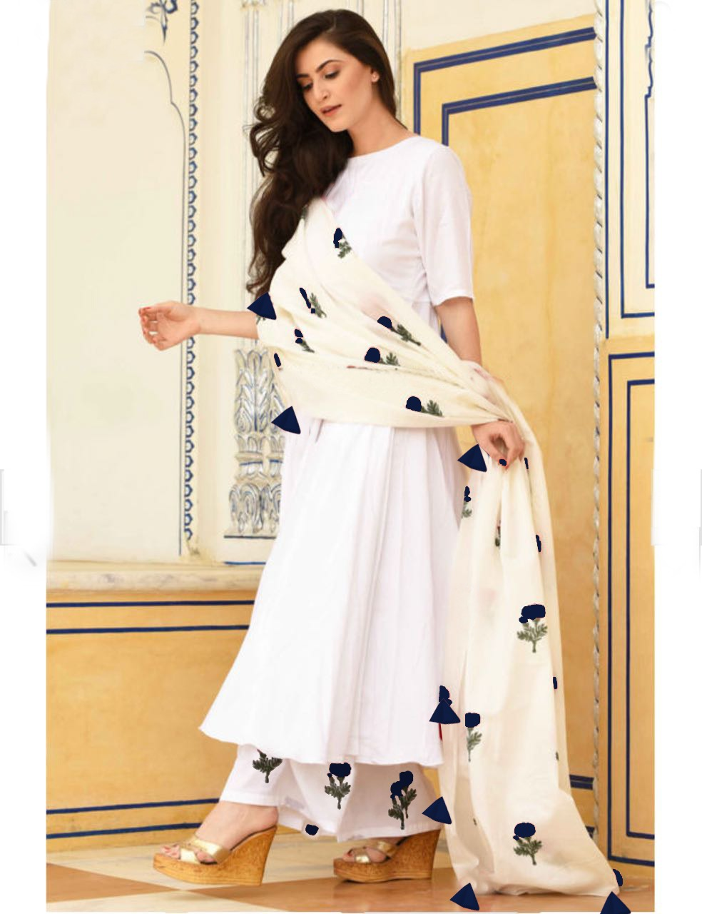 abd251a17d Rutba Khan White Vol 7 | Ethnic Export