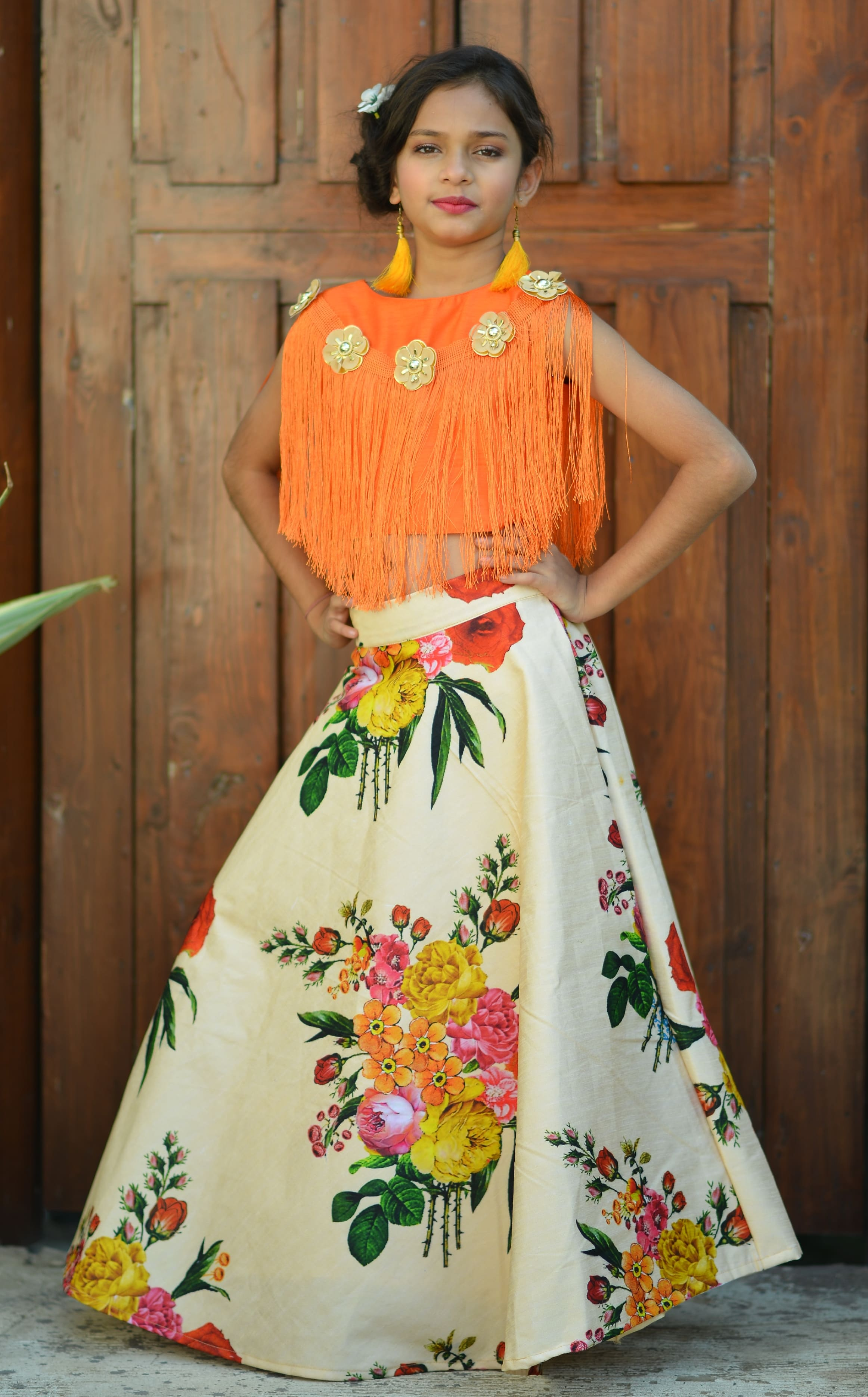 Doll Vol 2 Designer Silk And Georgette With Work Kids Collection At Wholesale Rate
