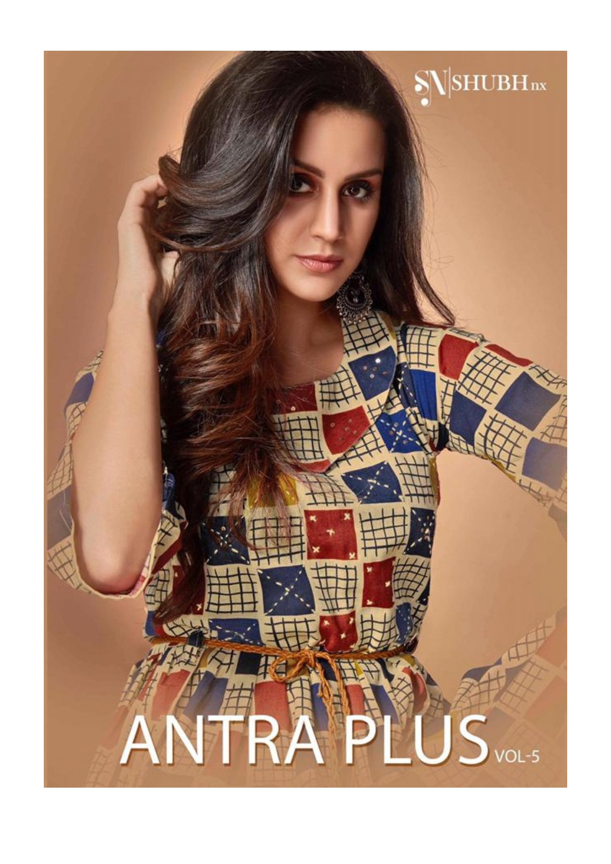 Shubh Nx Antra Plus Vol 5 Printed Linen Designer Readymade Kurtis Collection At Wholesale Rate