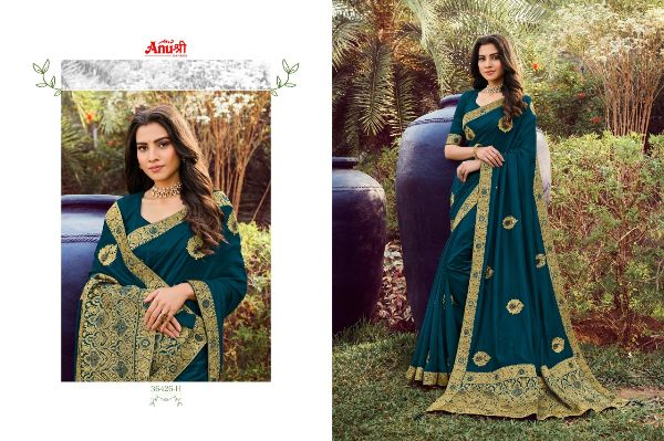 Anushree Kalpataru Georgette Party Wear Sarees Collection At Wholesale Rate