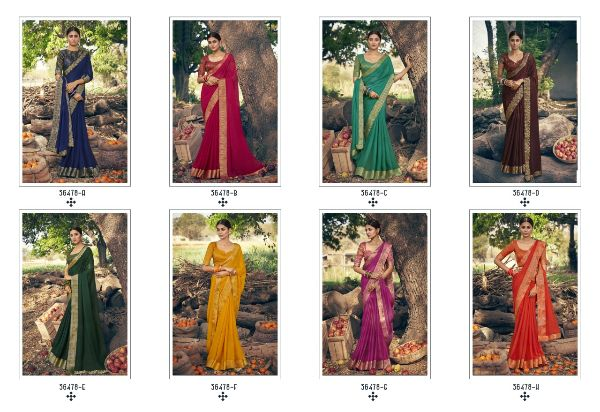 Anushree Khwahish Georgette Party Wear Sarees Collection At Wholesale Rate