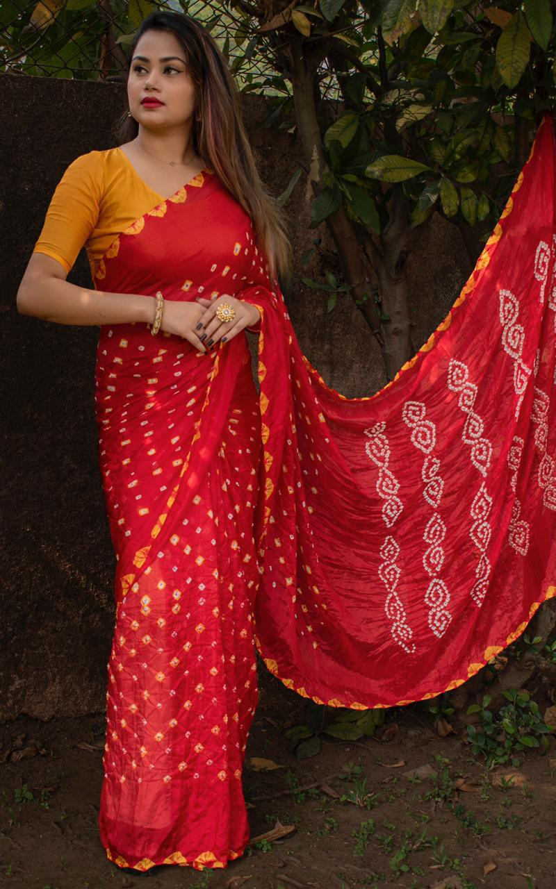 New Special Summer Bandhani Sarees Collection