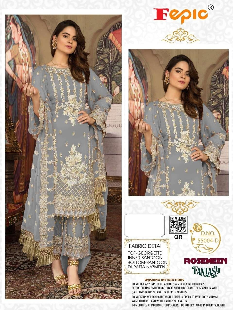 Latest Fepic Pakistani Suits At Best Rates Guarantee