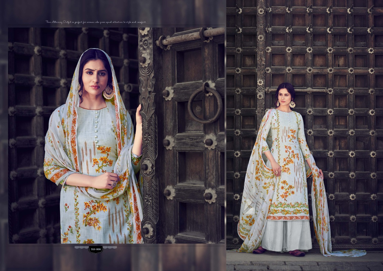 Belliza Designer Studio Nakshatra Pure Cotton Linen With Digital Print Dress Material At Wholesale Rate