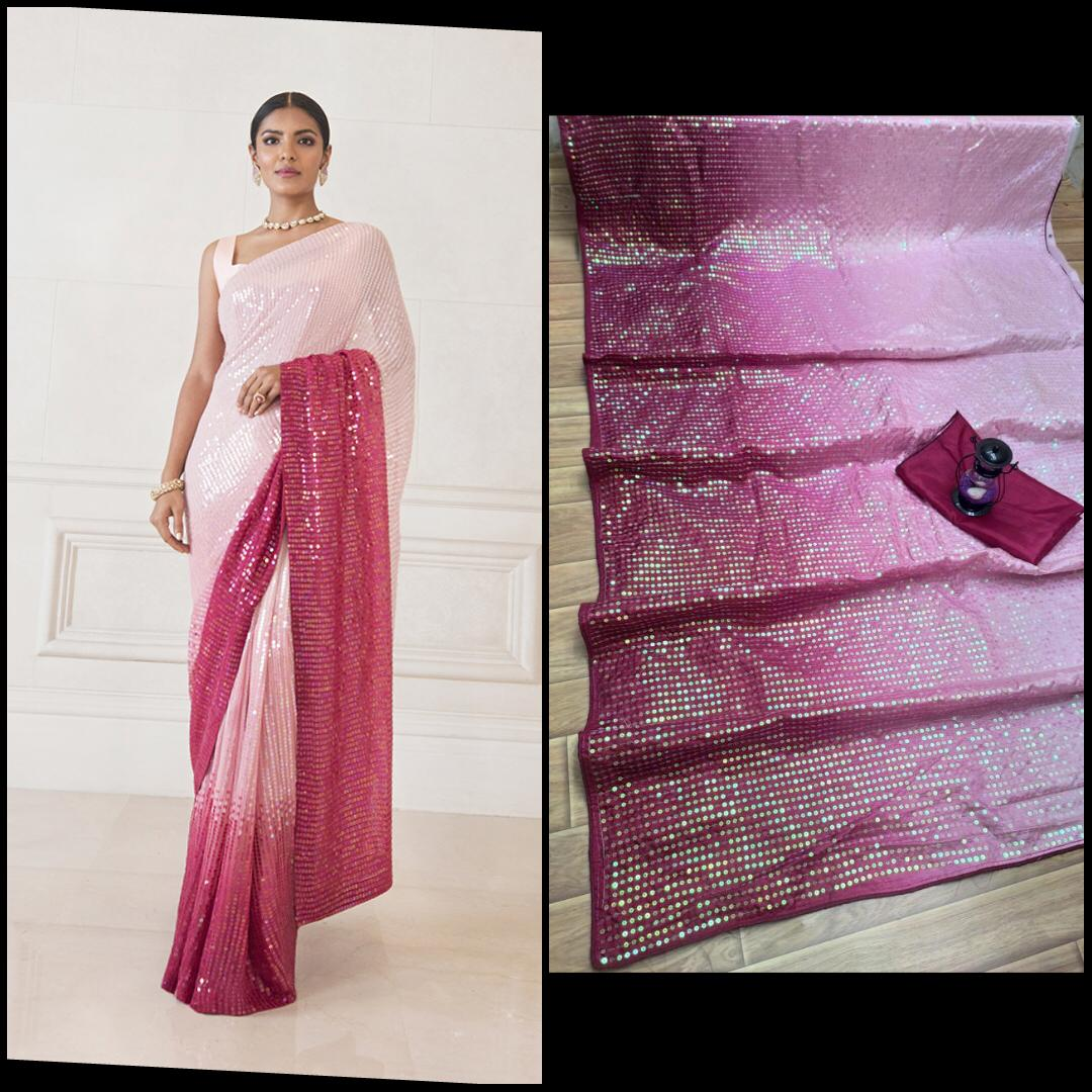Latest Bollywood Celebrity Designer Sarees Collection At Wholesale Rate