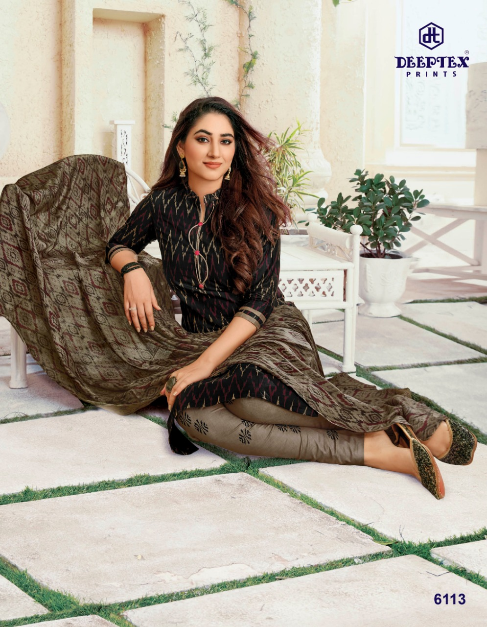 Deeptex Prints Miss India Vol 61 Printed Cotton Dress Material Collection At Wholesale Rate