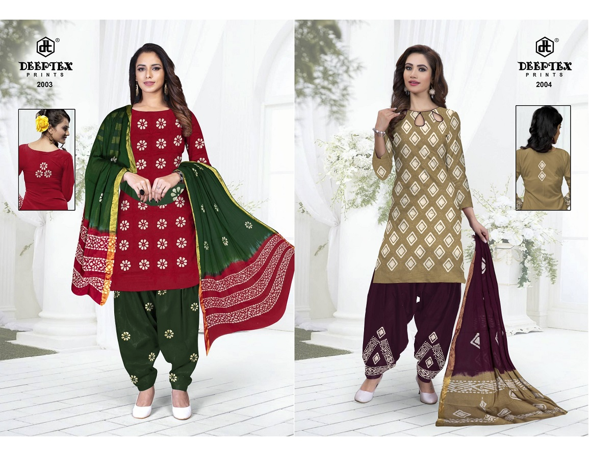 Deeptex Prints Suhana Vol 2 Printed Cotton Dress Material Collection At Wholesale Rate