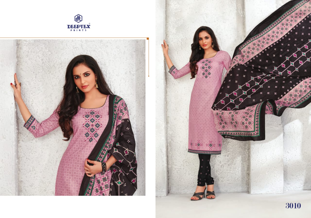Deeptex Prints Anushka Vol 3 Printed Pure Cotton Dress Material Collection At Wholesale Rate