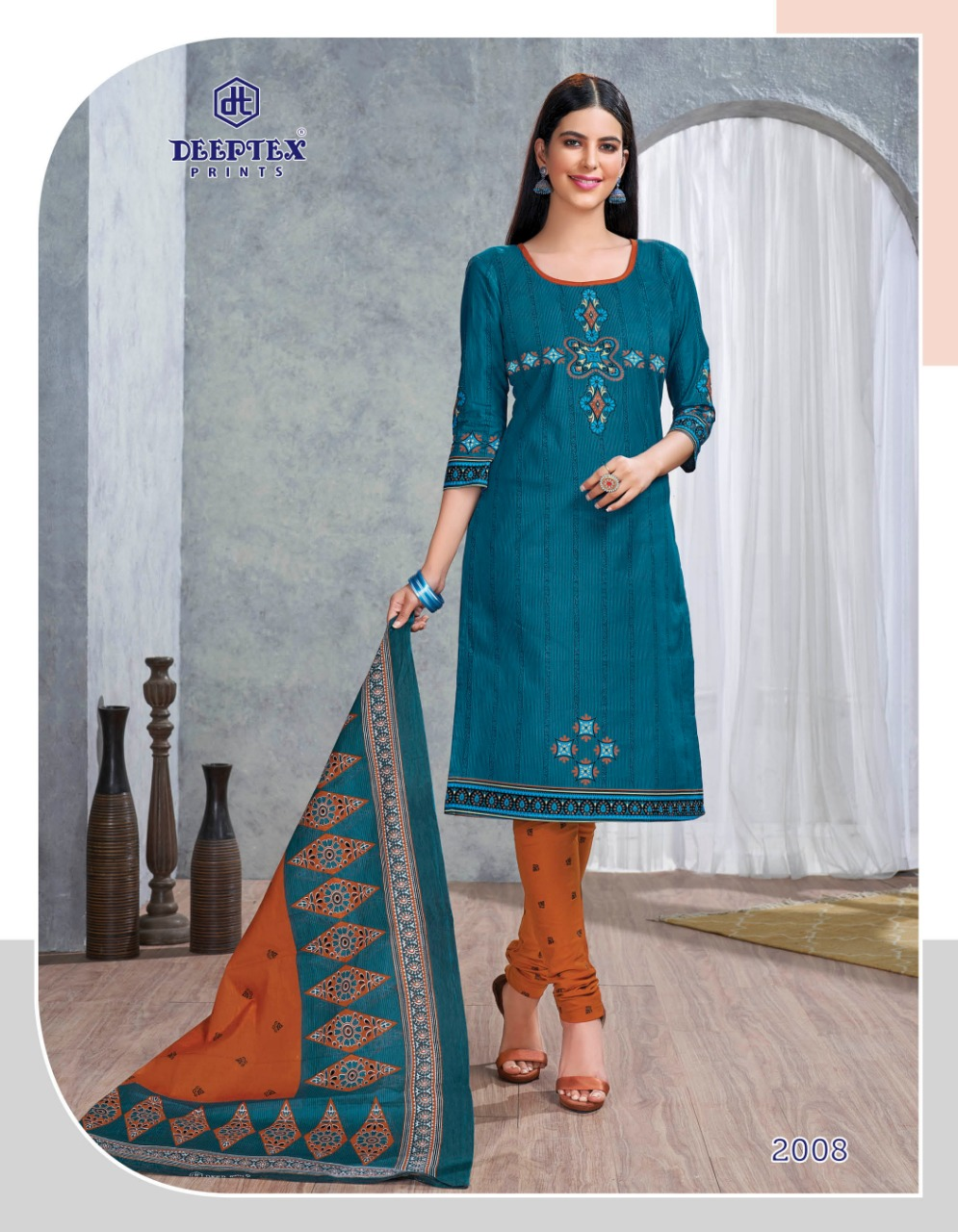 Deeptex Prints Anushka Vol 2 Printed Pure Cotton Dress Material Collection At Wholesale Rate