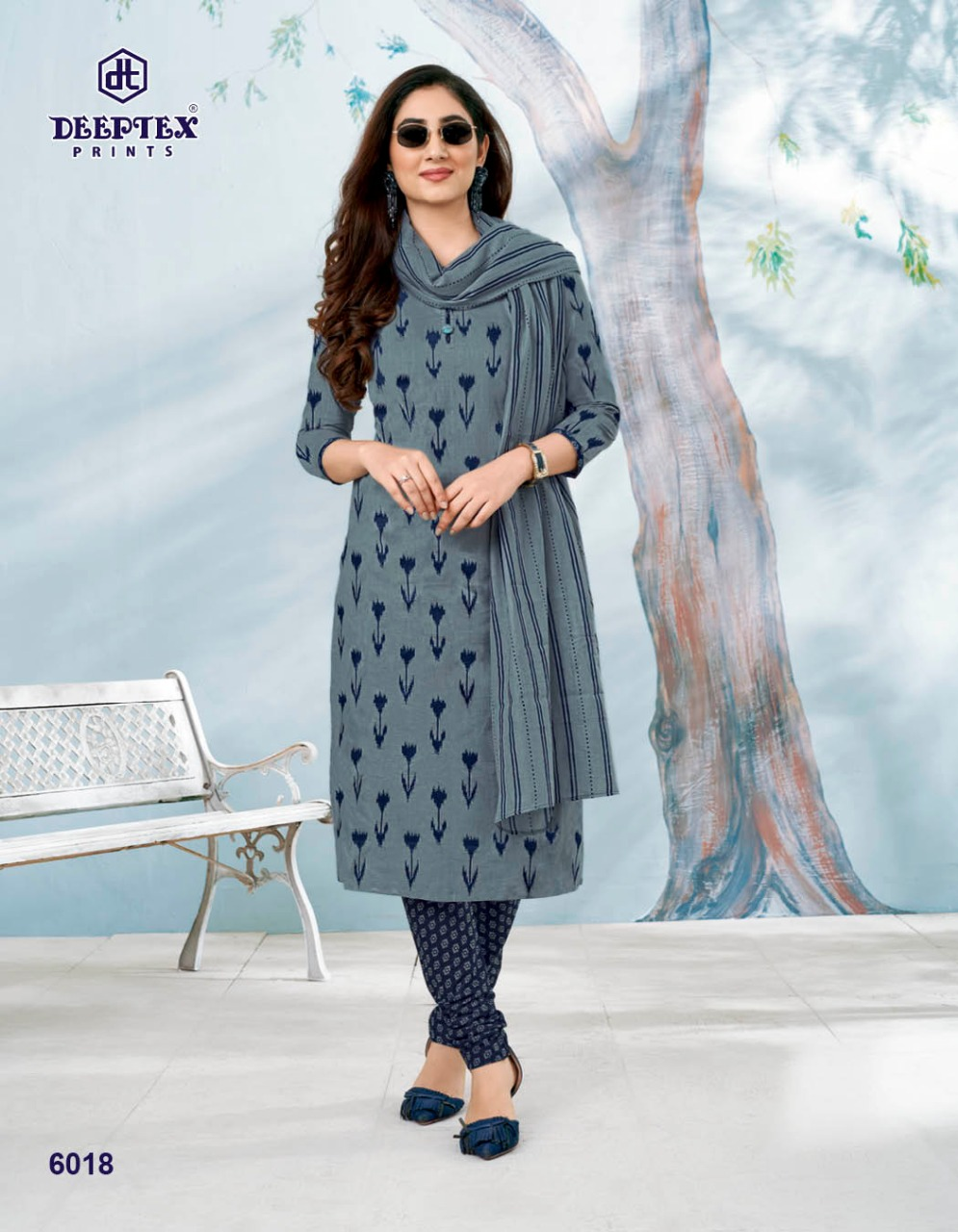 Deeptex Prints Miss India Vol 60 Printed Cotton Dress Material Collection At Wholesale Rate