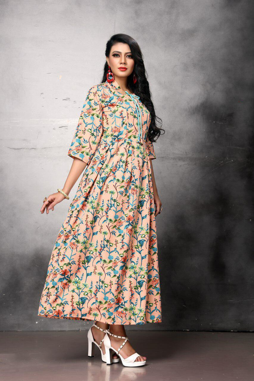 Exclusive Designer Print Gowns Collection
