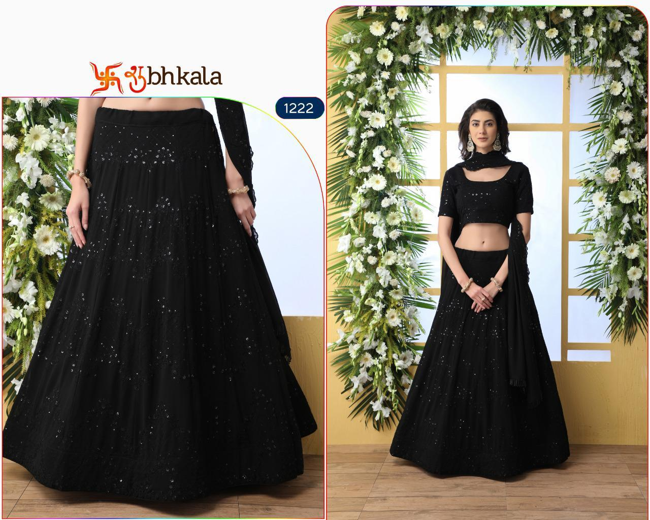 Guldasta Vol 5 Heavy Designer Georgette With Heavy Embroidery Work Wedding Lehenga Collection At Wholesale Rate