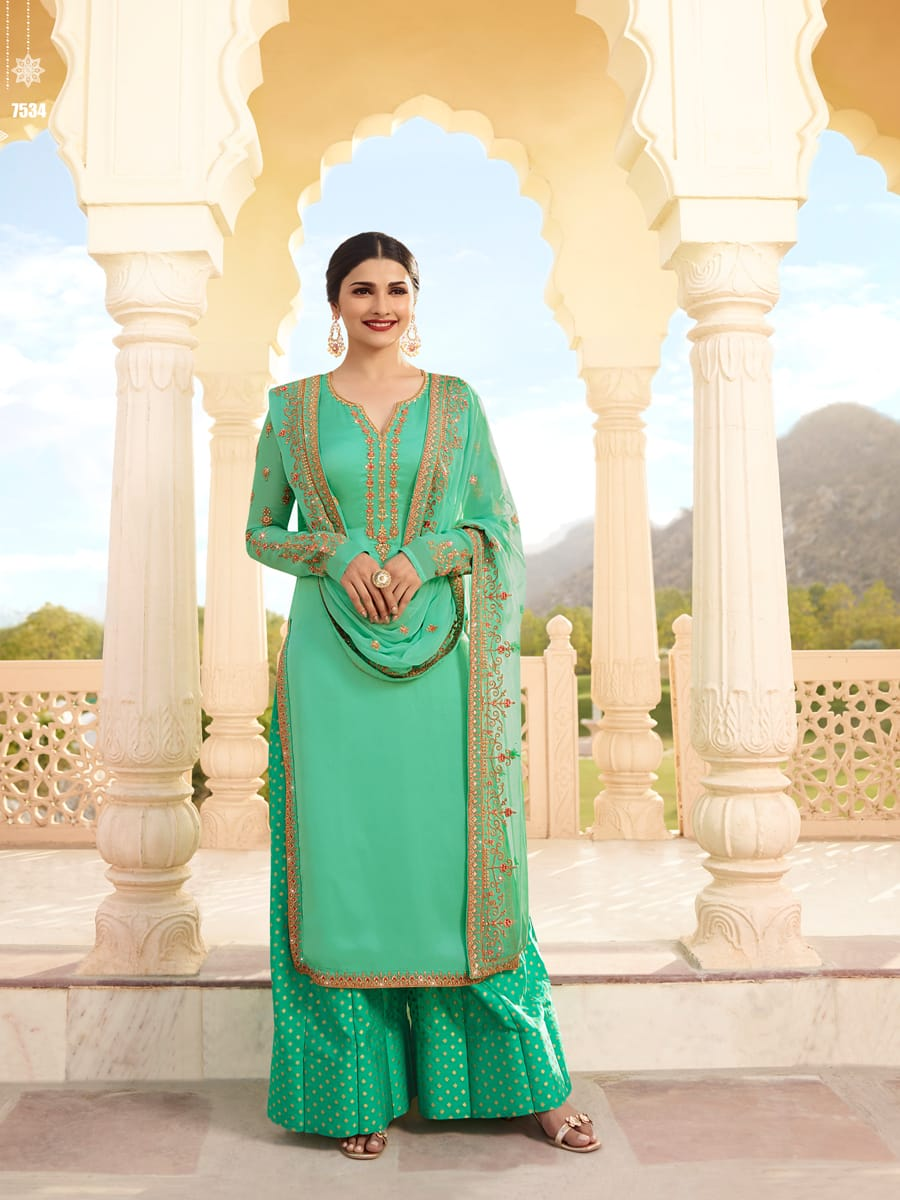 Dhamaka Offer Online Sale Of Heavy Salwar Kameez At Awesome Rates