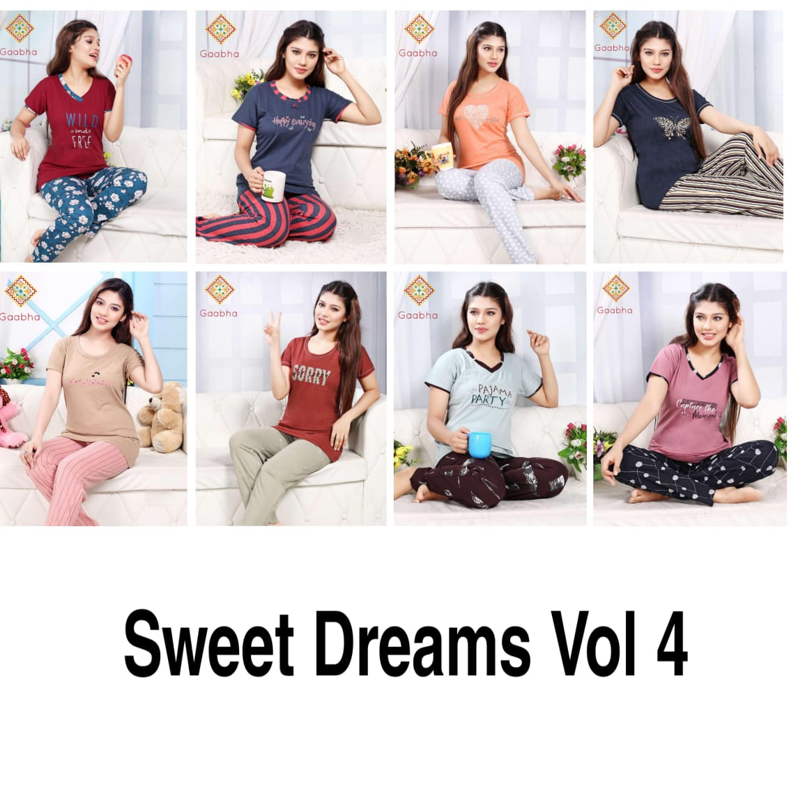 Premium Night Lounge Wear Night Suits Collection
