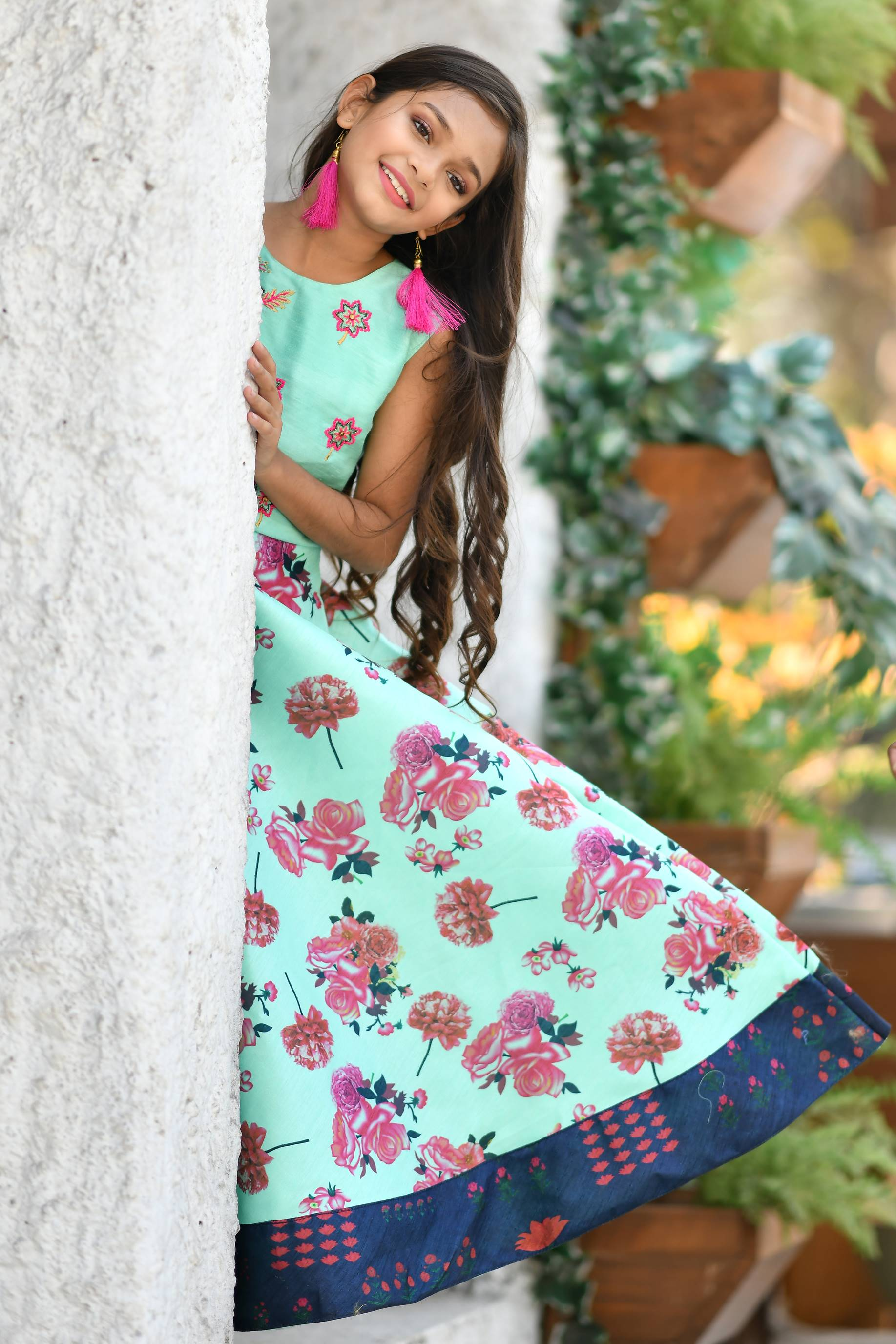 Kids Designer Gown Indo Western Collection At Wholesale Rates