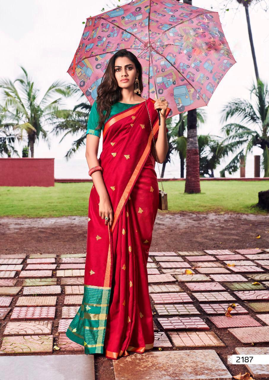 Lt Fabrics 2 Pc Combo Sarees Collection At Wholesale Rate