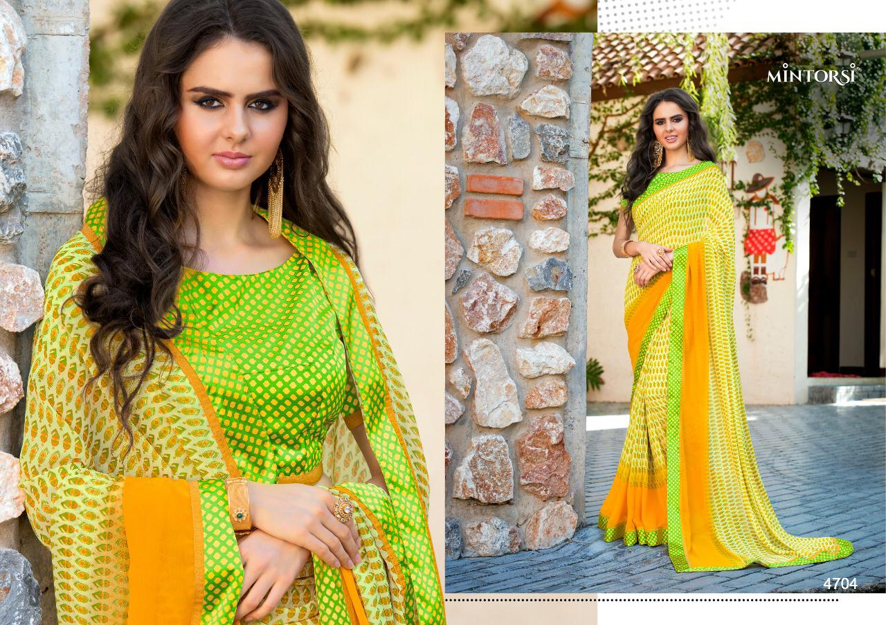 Varsiddhi Fashion Mintorsi Beauty Look Vol 2 Soft Weightless With Satin Lace Sarees At Wholesale Rate