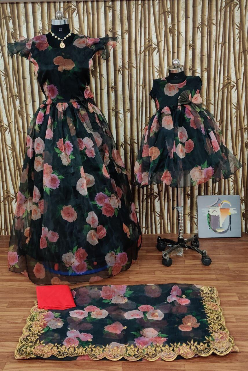 Exclusive Designer Mother Daughter Gown Collection At Wholesale Rate