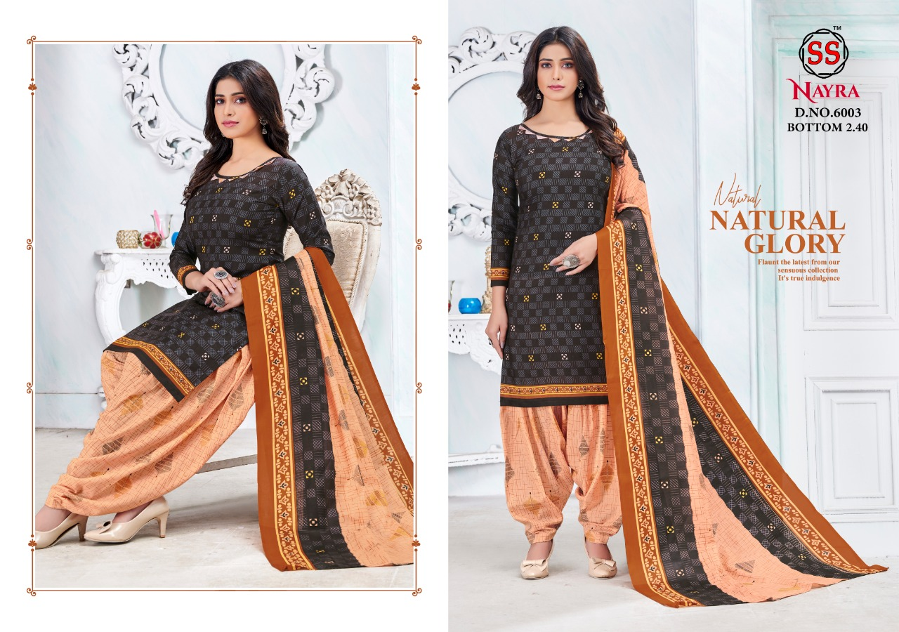 Nayra Cotton Vol 6 Printed Cotton Dress Material Collection At Wholesale Rate