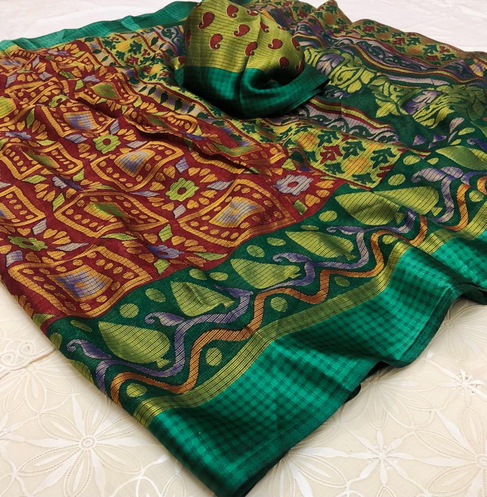 Shani Silk Pure Soft Brasso Silk Sarees Collection At Wholesale Rate
