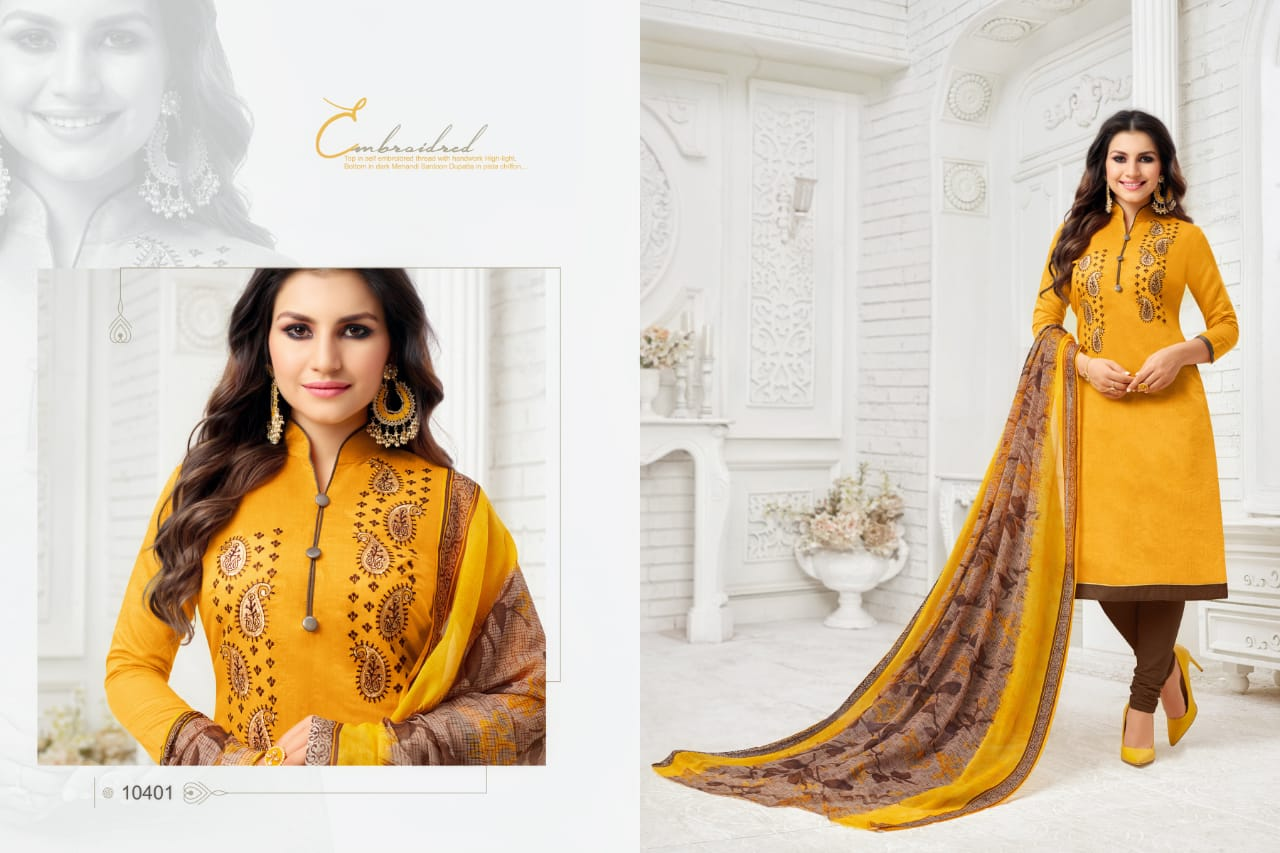 Rr Fashion Google It Vol 5 Modal Silk With Embroidery Work Dress Material At Wholesale Rate