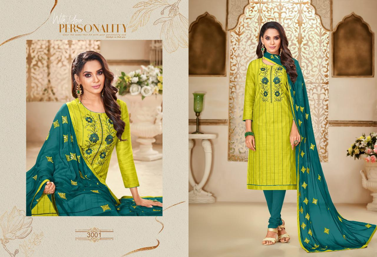 Shagun Lifestyle Ice Cream Vol 3 Silk With Embroidery Work Dress Material Collection At Wholesale Rate