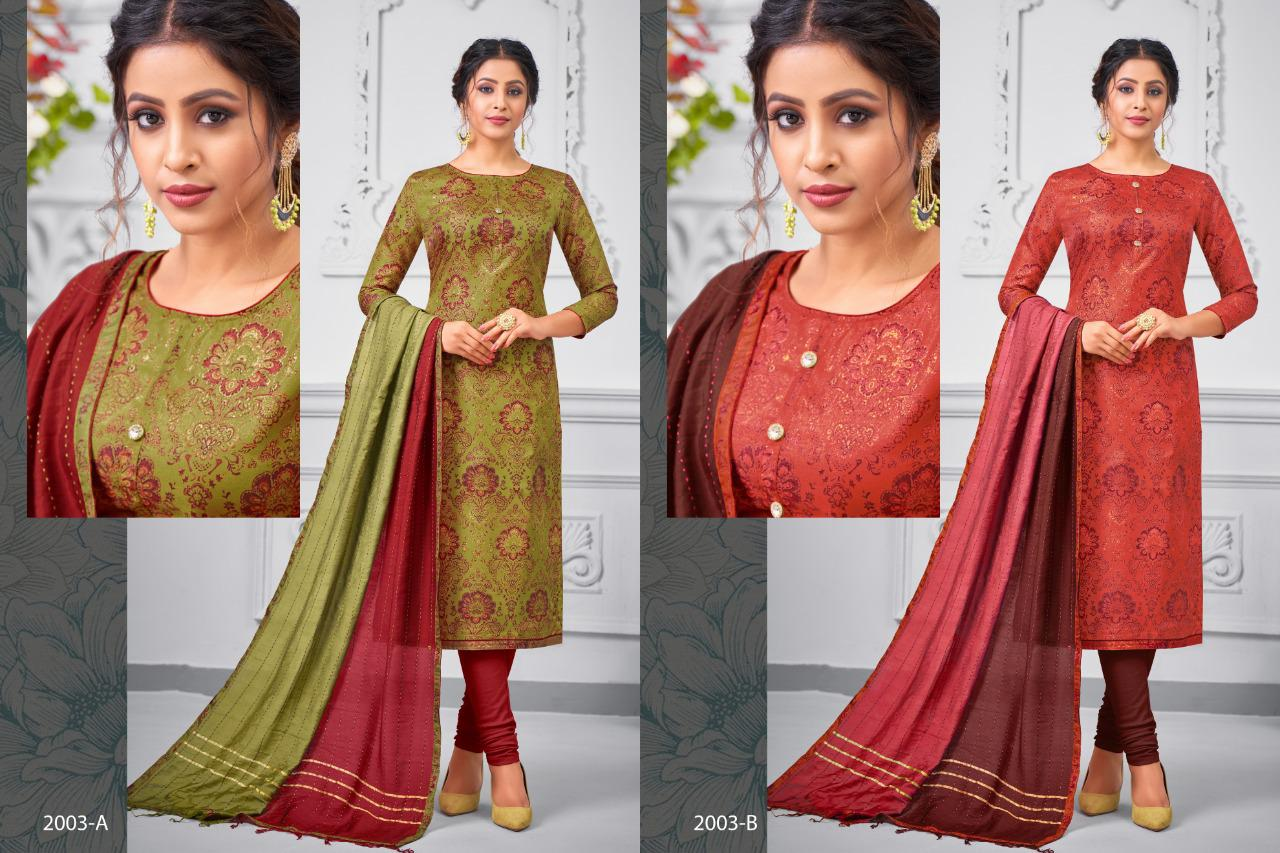 Shagun Lifestyle Ras Malai Vol 2 Fancy Fabric Dress Material Collection At Wholesale Rate
