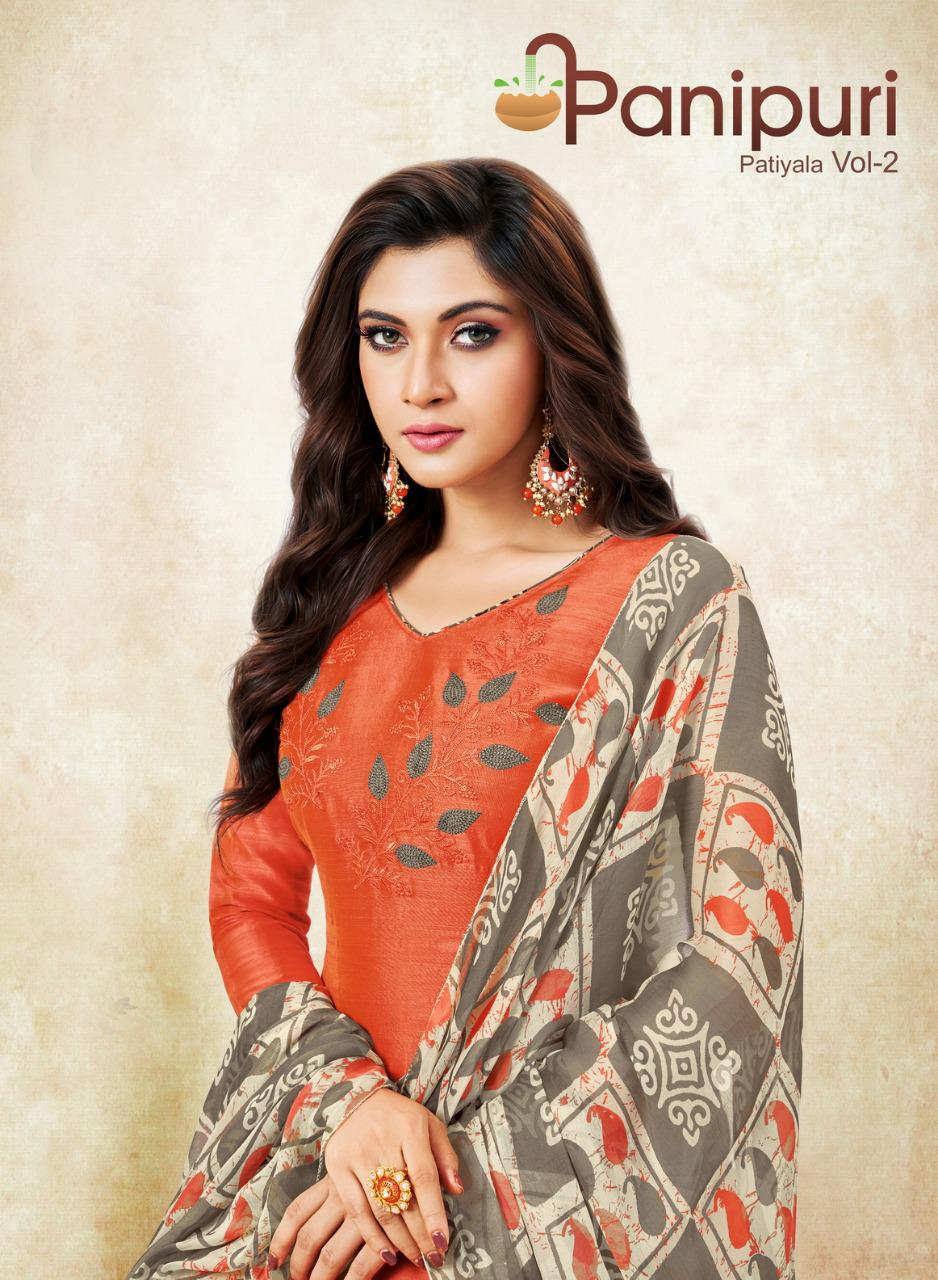Shagun Lifestyle Panipuri Printed South Soft Cotton Dress Material Collection At Wholesale Rate