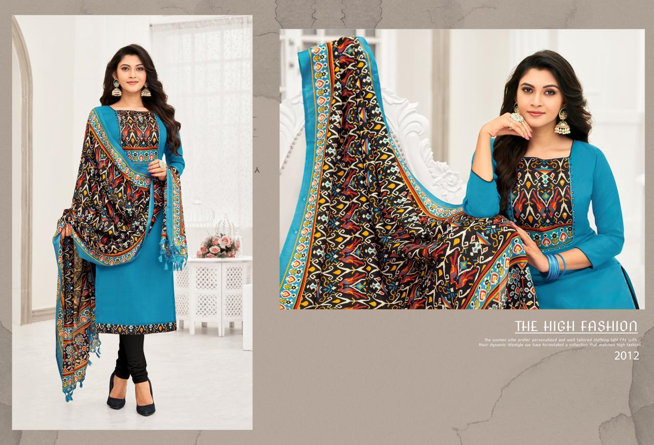 Shagun Lifestyle Mirror Selfie Vol 2 Cotton With Embroidery Work Dress Material At Wholesale Rate