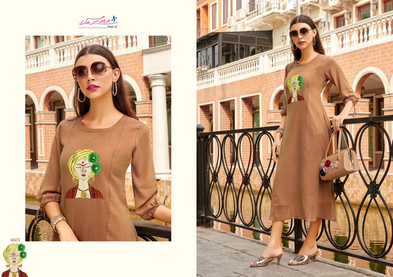 Sinzara Vintage Designer Georgette Readymade Kurtis At Wholesale Rate