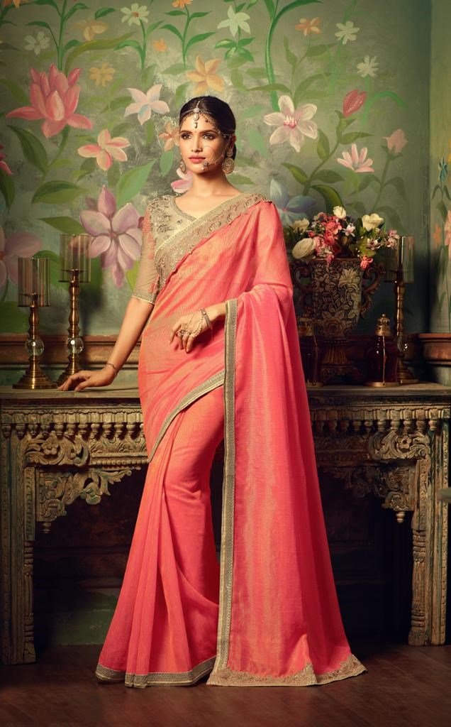 Tfh Hit Designs Designer Fancy Sarees Collection At Wholesale Rate